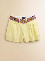 Ralph Lauren Girl's Oxford Shorts