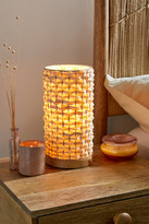 Urban Outfitters Woven Lantern Table Lamp
