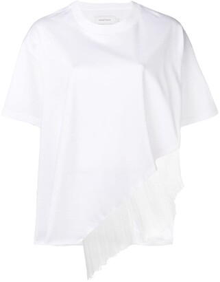 Marques Almeida fringed T-shirt