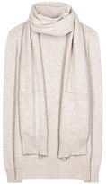 Loro Piana Dolcevita cashmere sweater with scarf
