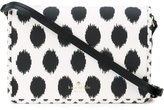 Kate Spade polka dot print crossbody bag - women - Leather/PVC - One Size