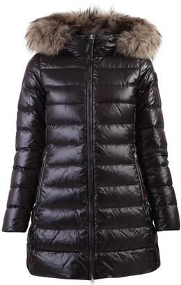 Woolrich Fur Trim Down Jacket