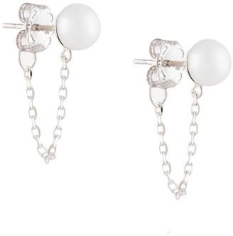 NATASHA SCHWEITZER Chain Stud Earrings