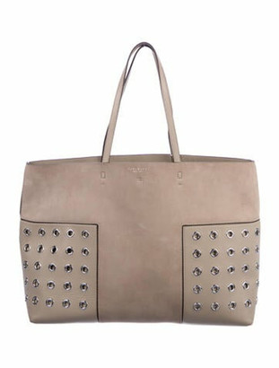 Tory Burch Suede Tote Bag w/ Tags Grey