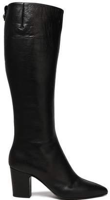 Giuseppe Zanotti Blanche Leather Knee Boots