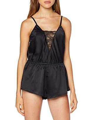 Pour Moi? Women's Dusk Satin & Lace Playsuit Negligee,(Size:)