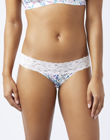 Accessorize Ava Floral Thong