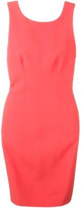 Capucci open back tube dress