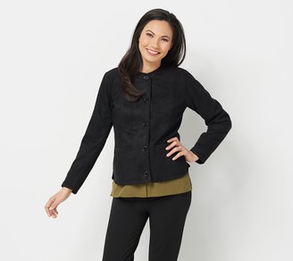 Linea by Louis Dell'Olio Faux Suede Jacket