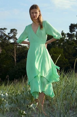 MBYM Zarella Bibbi Patina Green Dress - S
