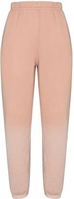 LES TIEN Classic cotton track pants