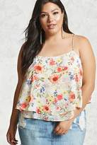 Forever 21 FOREVER 21+ Plus Size Floral Cami
