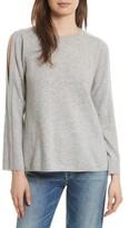 Joie Women's Amalyn Cold Shoulder Wool & Cashmere Sweater