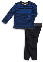 Splendid Boys 2-7 Striped Tee and Sweatpants Set