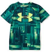 Under Armour Big Boys 8-20 UA TechTM Big-Logo Novelty Short-Sleeve Tee