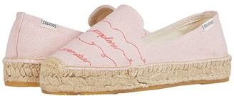 Soludos Walk This Way Platform SS (Dusty Rose) Women's Shoes
