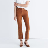 Madewell Cali Demi-Boot Jeans in Corduroy