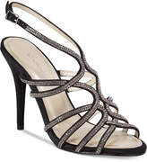 Caparros Helena Strappy Embellished Evening Sandals