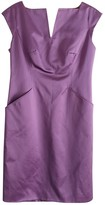 Carolina Herrera Purple Silk Dress for Women