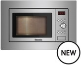 Baumatic BMIG3825 Built-in Microwave With Grill - Stainless Steel