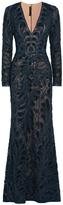 Elie Saab Sequin Embellished Gown