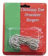 "Kurt Adler 50ct Large Jumbo Silver Metal Christmas Ornament Hooks 2.5"""