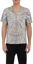 Raquel Allegra Men's Tie-Dyed T-Shirt-GREY