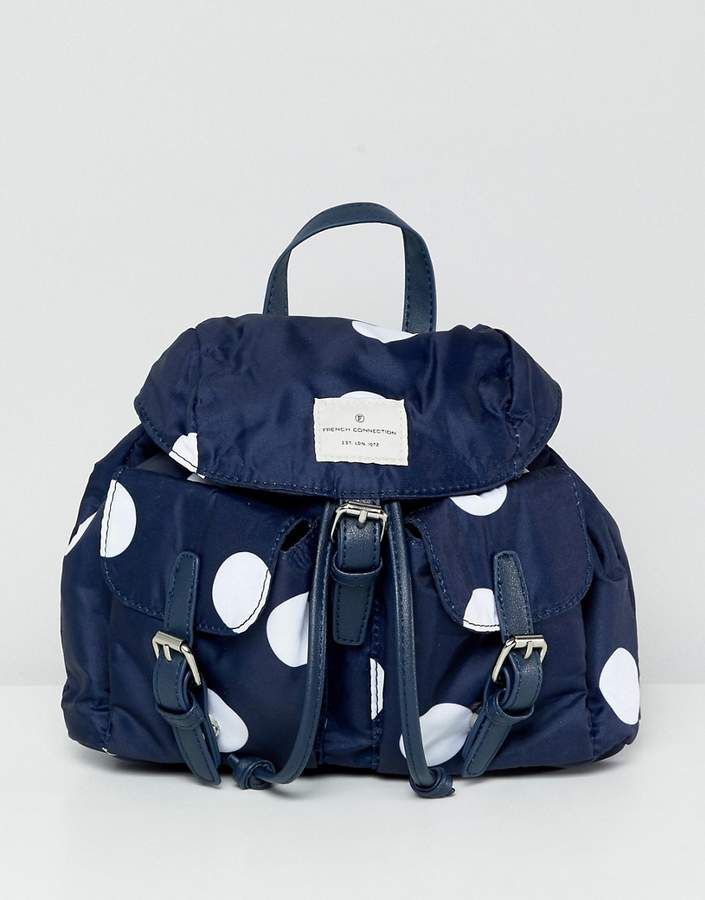 French Connection Missy Spot Backpack