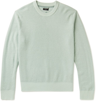 Club Monaco Waffle-Knit Cashmere Sweater