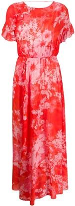 Pinko Tie-Dye Print Dress