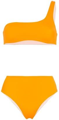 Solid & Striped Isabel one shoulder bikini