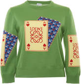 Loewe Playing Card Jacquard Sweater