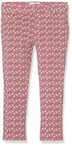 Fat Face Girl's Leaf Print Jegging Trousers