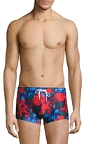 2xist Abstract Floral Cabo Swim Trunks