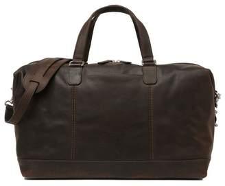 Frye Olive Vintage Leather Duffel Bag