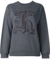 Christopher Kane 'Kane' sweatshirt - women - Cotton - XS