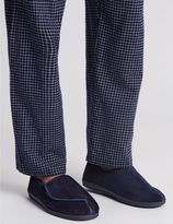 Marks and Spencer Riptape Corduroy Slippers with ThinsulateTM