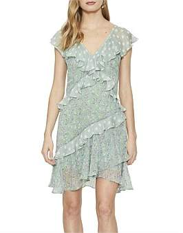 Cooper St Oasis Ruffle Mini Dress