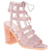 Sole Society Molly Heel heeled lace-up sandal