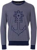 Z Zegna ancora knitted jumper
