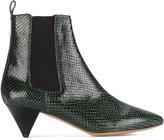 Isabel Marant Dawell snakeskin boots