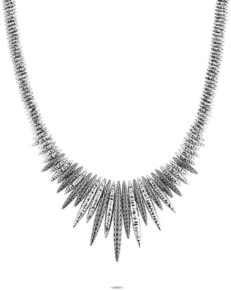 John Hardy Classic Chain Graduated Spear Necklace