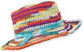 Missoni Rainbow Straw Hat