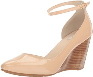 Cole Haan Women's Sadie Ankle Strap Wedge 85MM Platform