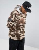 Obey Crosstown Overhead Jacket in Camo