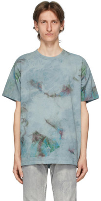 John Elliott Blue Marble Mix University T-Shirt