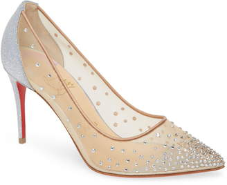 Christian Louboutin Follies Crystal Pump