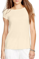 Lauren Ralph Lauren Short-Sleeve Knit Tee