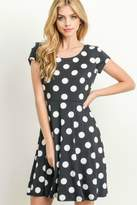 Gilli Polka-Dot Criss-Cross Dress