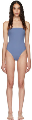 Lido Blue Sedici Bandeau One-Piece Swimsuit
